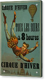 Cirque D'hiver Acrylic Print