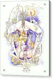 Cirque Du Huntey Acrylic Print by Igor Khunteyev