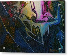 Acrylic Print featuring the painting Cirque Du Soleil by Mary Sullivan