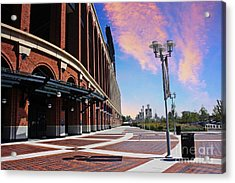 Citi Field Stadium Side View Acrylic Print by Nishanth Gopinathan