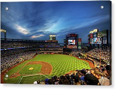Citi Field Twilight Acrylic Print