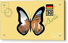 Cities Of The World   Berlin 1 Acrylic Print