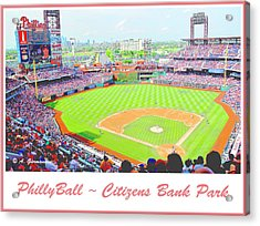 Citizens Bank Park, Philadelphia Acrylic Print