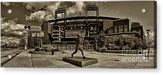 Citizens Park Panoramic Acrylic Print by Jack Paolini