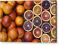 Citrus Blood Oranges Acrylic Print