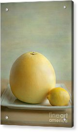 Acrylic Print featuring the photograph Citrus Brothers by Aiolos Greek Collections