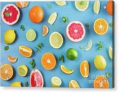 Citrus Summer Acrylic Print
