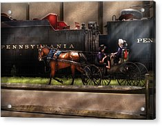 City - Lancaster Pa - You Got To Love Lancaster Acrylic Print by Mike Savad
