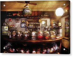 City - Ny 77 Water Street - The Candy Store Acrylic Print by Mike Savad