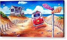 City 2 Surf Acrylic Print