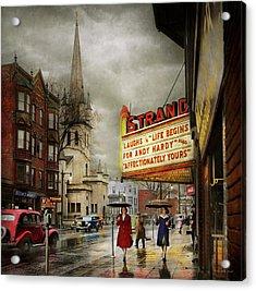 City - Amsterdam Ny - Life Begins 1941 Acrylic Print