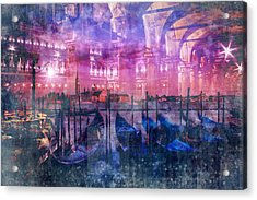 City-art Venice Composing Acrylic Print
