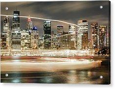 City Blur Acrylic Print