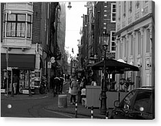 Acrylic Print featuring the photograph City Center 1 by Scott Hovind