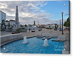 City Center Of Tavira Acrylic Print