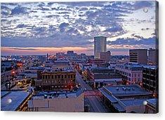 City Dawn Acrylic Print