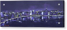 City Dreams Acrylic Print