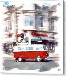 City Drive Acrylic Print