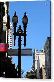 Acrylic Print featuring the photograph City by Fanny Diaz