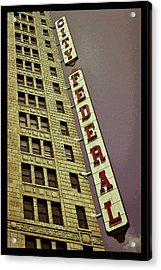 City Federal Poster Acrylic Print