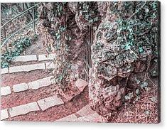 City Grotto Acrylic Print