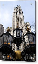 City Hall Area Nyc Acrylic Print