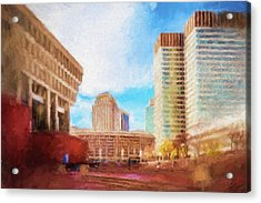 City Hall At Government Center Acrylic Print