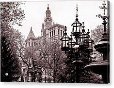 City Hall Acrylic Print by Az Jackson