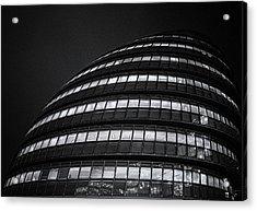 City Hall London Acrylic Print by Martin Newman