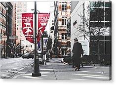 City Life  Acrylic Print by Jose Garcia