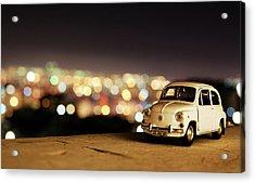 City Lights Acrylic Print by Ivan Vukelic
