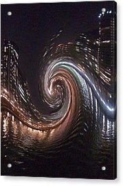 City Lights  Acrylic Print by Sherri's Of Palm Springs