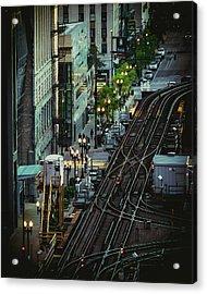 City Lines Acrylic Print