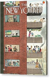 City Living Acrylic Print