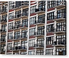 City Living Acrylic Print by M Ryan