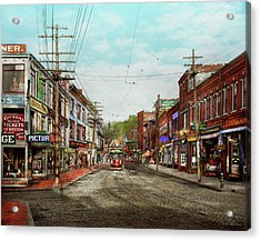 Acrylic Print featuring the photograph City - Ma Glouster - A Little Bit Of Everything 1910 by Mike Savad