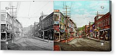 Acrylic Print featuring the photograph City - Ma Glouster - A Little Bit Of Everything 1910 - Side By Side by Mike Savad