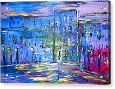 City Mouse Acrylic Print