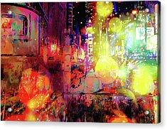 City Nights Acrylic Print
