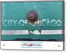 City Of Chi 1 Acrylic Print