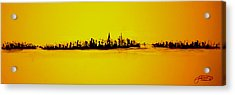 City Of Gold Acrylic Print
