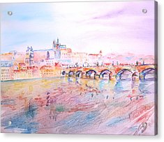 City Of Prague Acrylic Print