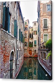 City Of Water Acrylic Print