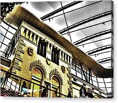 City Roof Acrylic Print