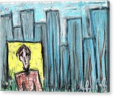 City Roots Acrylic Print by Levi Glassrock
