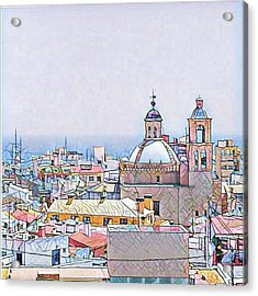 City Scape Acrylic Print