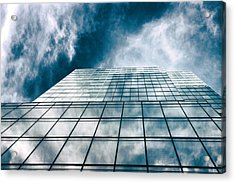Acrylic Print featuring the photograph City Sky Light by Jessica Jenney