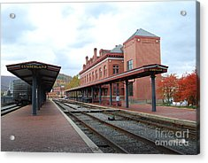 Acrylic Print featuring the photograph City Station by Eric Liller