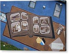 City Street Art Acrylic Print by Robert Braley