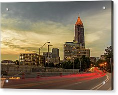 City Sunset Acrylic Print